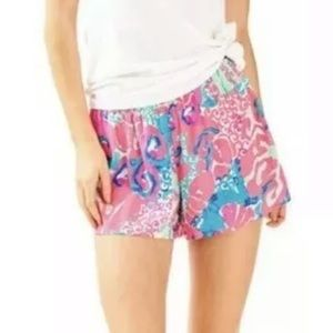 Lilly Pulitzer Shorts - Lilly Pulitzer Coral Reef So Jelly Shorts • Size S